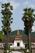 Вход в королевский дворец (нац. музей). Луанг Прабанг