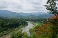Вид с горы Пу Си. Луанг Прабанг