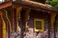 Стена «розового храма». Ват Сьен Тонг. Луанг Прабанг