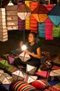 Другие фонарики. Ночной рынок. Луанг Прабанг
