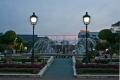 Фонтан в центре города. Вьентьян