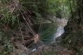 Первое озеро водопада Пяти Озер. Национальный парк Бать Ма