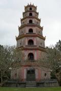 Пагода Тьен Му, 1844 г. – неофициальный символ Хуэ. Хуэ