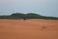 Красные песчаные дюны. Фантьет
