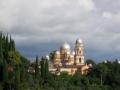 Ново-Афонский Симоно-Кананитский монастырь - главная достопримечательность города Новый Афон, Абхазия