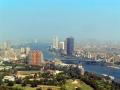 Панорама Каира: вид на реку Нил