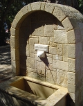 Питьевой фонтан в Лутраки