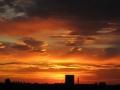 Вид на Болонью на закате