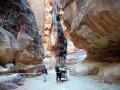 Яркие и красивые ущелья, созданные природой в Петра (Иордания)