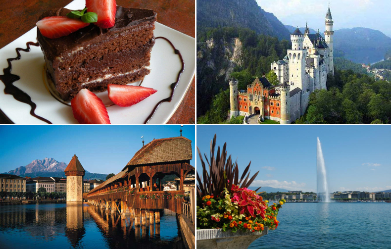 Австрия-Германия-Швейцария. Мечты сбываются.
