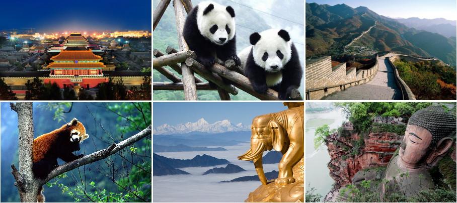 ГАРАНТИЯ! К ПАНДАМ ОТ ВАНДА. Пекин-Чэнду(панды)-Лэшань-Эмэйшань-Пекин.