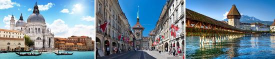Италия-Швейцария-Лихтенштейн + Отдых в Римини.