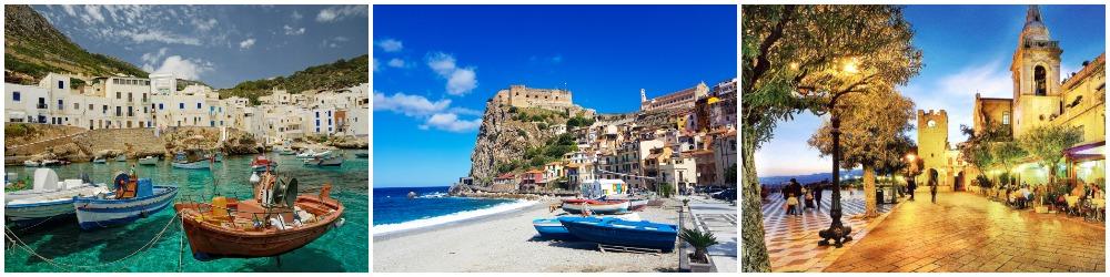 Сицилия и Калабрия.
